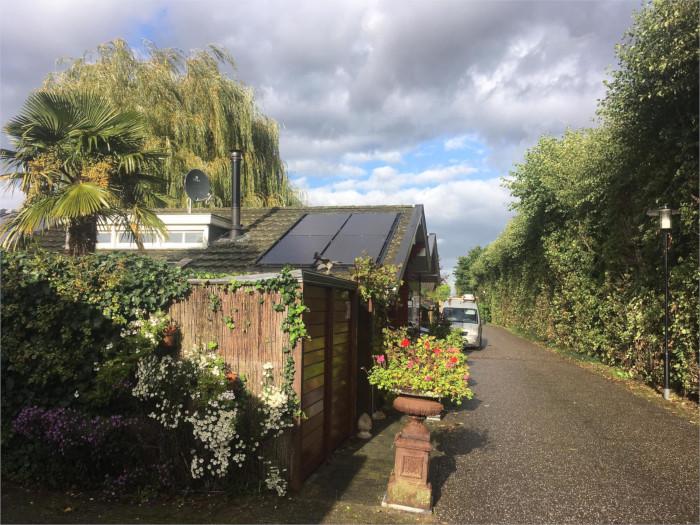 zonnepanelen huis bunnik